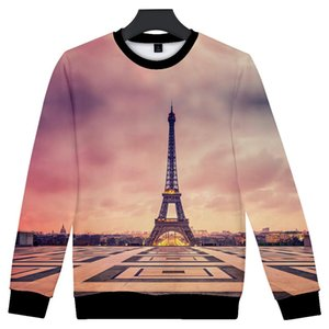 Hot Sale France Paris Eiffel Tower 3d Hoodies Men Women Sweatshirts Famous La Tour Eiffel Hoodie Sweatshirt Pollover Tracksuit bbyPFw