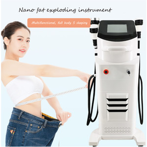 2020 hot Nano Microwave Multi-function Slimming Ultrasonic Cavitation Carving Instrument Rf Vacuum Rf Vacuum body shaping Slimming Machine