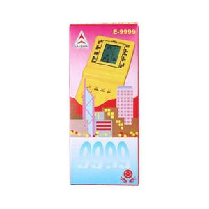 2020 Classic Tetris Hand Held gioco elettronico Giocattoli Console per bambini che giocano Fun Gioco mattone Riddle gioco palmare