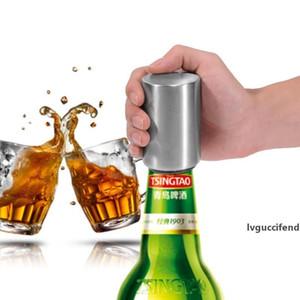 Acciaio inossidabile Beer Bottle Opener automatico Accessori Cucina della birra Soda Cap Vino Rosso Cavatappi Bar Forniture Strumento di cucina