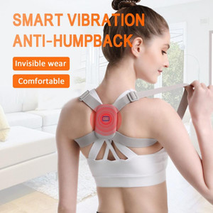 Adjustable Intelligent Posture Trainer Smart Posture Corrector Upper Back Brace Clavicle Support Belt For weight 20-90kg