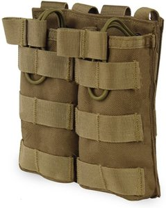 Tactical MOLLE M4 M16 Mag Pouch Triple Double Single Open Top Mag Holder for Airsoft AR15 HK416(Colors Available)