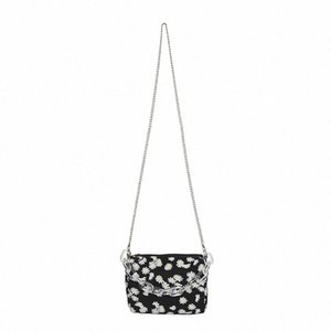 Fashion Daisy Printed Shoulder Bag 2020 Summer New Womens Chain Crossbody Bag Bolsa Feminina Mini Handbag iX6x#