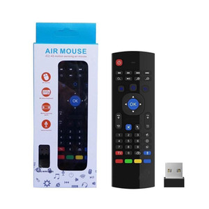 2020 Vioce control MX3 Fly Air Mouse mini Keyboard IR Learning 2.4GHz 6 Axis Wireless Remote Control for Android TV Box Better