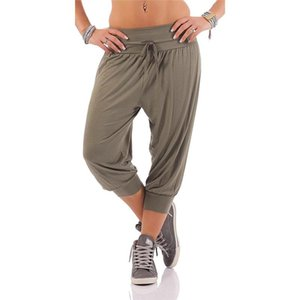 Casual Mens Pants Fitness Fashion Breathable Slim Fit Sweatpants Bottom Male Cropped Trousers Cotton Cargo Pants