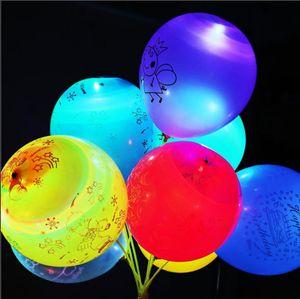 LD1001x20 New flash Fairy wand balloon Star Ball Magic wand flash stick children's Luminescent toy LED Light Sticks