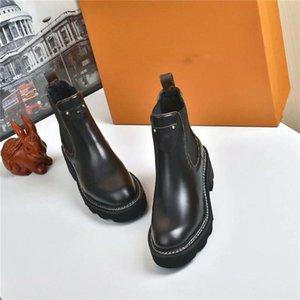 2020 Nueva BEAUBOURG botines Mujeres Moda Martin botas de diseño al aire libre de invierno botas de cuero con EU35-42 cuadro Tamaño