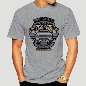 Delorean Car Time Travelers Racer Back To The Future Faddish Crewneck zufällige Spitze Geburtstag 3248a Sport T-Shirt Hoodie-T-Shirt