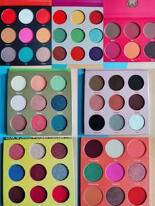 Güzellik Sıcak makyaj Masquerade Paleti Göz farı Palet Zulu Göz Farı 16 renk 12 renk 6 renk allık Ücretsiz nakliye