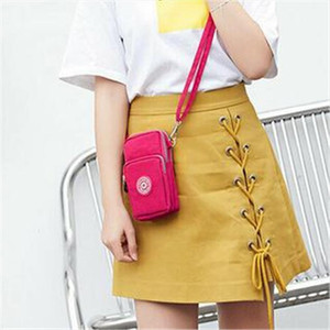 Ladies Cross body Mobile Phone Bags Womens Fashion Shoulder Bag Pouch Case Belt Handbag Purse Wallet Message Bags New 2020