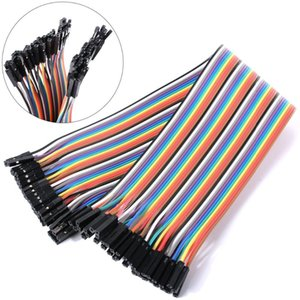 Yks003 Free Shipping Dupont Line 40p 21cm Female To Female Jumper Wire Dupont Cable Breadboard Cable Jump Wire
