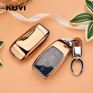 Новый TPU автомобилей дистанционного ключа Дело Shell для Mercedes E S Class AMG E200 E260 E300 E320 W213 Защитная крышка Ключ Fob держатель
