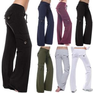 VICABO 5XL Cargo Pants Женщины Плюс Размер Strong Elastic Drawstring Wide Leg Брюки женские Мягкие бегуны Спортивные Sweatpants