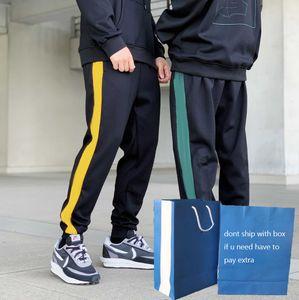 Men Sport Pants Men's Slim Running Training Embroidery Three Leaves Pattern Moisture Wicking Breathable Boy Fitness Pants