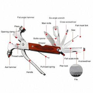Multifunzione Safety Car del martello attrezzo di campeggio attrezzature usate Home sopravvivenza Forniture HVR88 Lcmk #