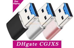 USB 3 .0 Mini leitor de cartão / micro SD / SDXC Leitor de cartão TF Alumínio USB3 .0 OTG para tablets PC laptop