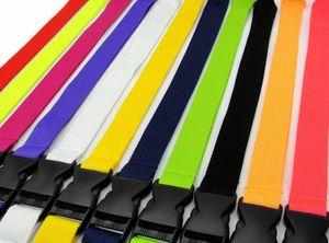 2020 New Hot 10pcs Fashion Clothing Sport Lanyard Detachable Neck Strap Lanyard for Keyring Key Chains Cellphone Card Free Shipping