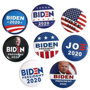 Joy Biden 2020 Election President Badge Button Pin Campaign Brooch Make America Great Hat Scarf Accessories