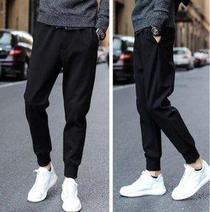 Les hommes Sarouel japonais leggings hommes Casual pantalons Pantalons Jogger homme marée hiver coréenne Pantalon slim