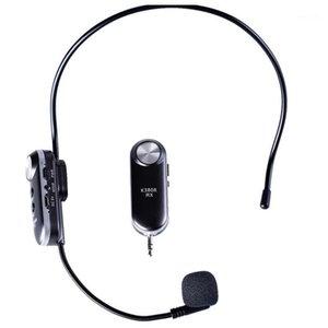 سماعة ميكروفون لاسلكي سماعة ميكروفون ميكروفونات FM Over-Head BT إلغاء الضوضاء اليدين