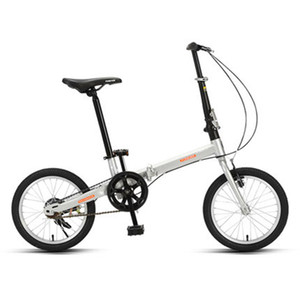 16 Inch Adult Foldable Bicycle Ultra Light Portable Bicycle With Aluminum Alloy Rim High Carbon Steel Folding Frame