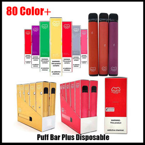 Newest Puff Plus in stock Disposable Device Pod Starter Kit 550mAh Battery 3.2ml Cartridge Vape high quality