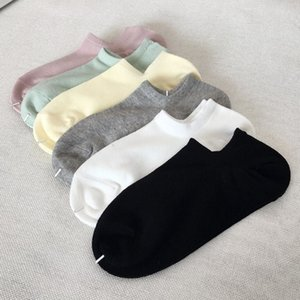 2020 para hombre del deporte del verano del calcetín mujeres de los hombres de alta calidad de algodón Barco del calcetín de los hombres de los hombres de la ropa interior Un tamaño envío