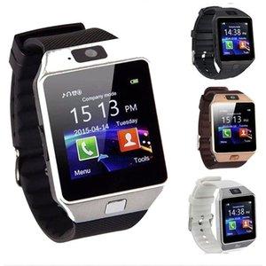 SmartWatch DZ09 Smart Watch Phone Camera SIM-Karte Samsung Smart Watchs Intelligent Mobiltelefonuhr mit Kleinkasten