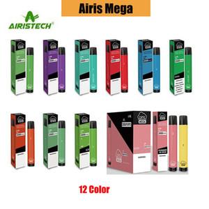 100% authentische Airis Mega 2000 Puffs Einweg Vape Pod Gerät 2000 Hits 1050mAh Akku 6ML Cartridge E-Zig Bar von AIRISTECH Fabrik