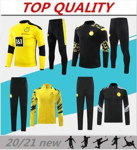 2020 2021 SANCHO HAALAND chaqueta de traje de entrenamiento de fútbol de manga larga chándal 20/21 deportes Survetement REUS PELIGRO desgaste kit de la chaqueta de fútbol