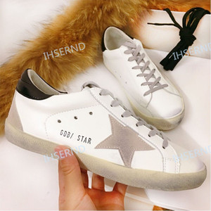 Love Multicolor Golden Superstar Gooses Sneakers Men Women Classic White Do-old Dirty Shoes Casual Shoes Size 34-42
