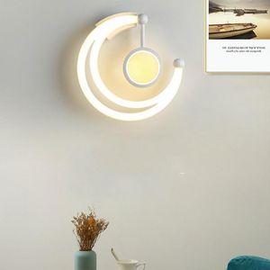 Modern Simple Bedroom Bedside Wall Lamp Nordic Creative Living Room Led Wall Light Background Stair CorridorIndoor Lighting