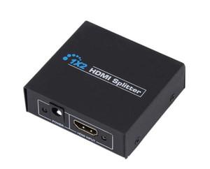 HDMI Splitter 2-Port 1x2 HDMI Switch 1 In 2 Out Switcher Unterstützung HDTV 1080P für Audio-Video-DVD