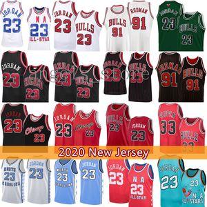 Scottie 33 Pippen 23 Michael ŞikagoBull Basketbol Jersey Dennis Rodman 91 MJ Bull Erkek Gençlik Çocuk North Carolina State University