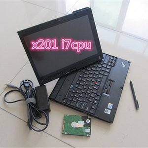 for ThinkPad X201t Laptop I7cpu 4g ram Diagnostic Laptop High quality with 1tb harddisk alldata auto repair soft-ware