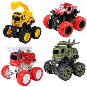 Childrens Toy Inércia Four-Wheel Drive veículo off-road Fire Protection Engenharia Militar Boy Toy Criança