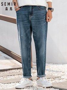 Semir Jeans Erkekler Gelgit Marka 2020 Yeni Japon Erkekler Harlan Gevşek Pamuk Kış Denim Pantolon Cotton1