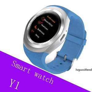 Y1 smart watchs for android smartwatch Samsung cell Phone watch bluetooth for apple iphone with U8 DZ09 GT08 with retail package