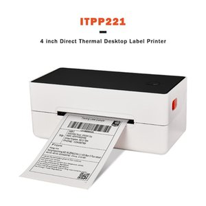 IssyzonePOS Label Barcode Printer 4 inch 4×6 Label USB Thermal Paper Printing Shipping Express Lable Printer
