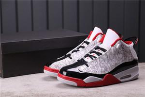 Édition limitée JunPman 4.5 Dub Zone Basketball Chaussures Uinon 4.5 Noir Red Laser Tennis Chaussures Hommes Formateurs Sneakers TbtGroup