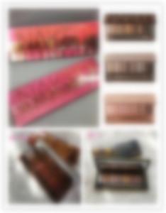 En el mejor calidad desnuda desnuda paleta de sombra de ojos maquillaje ahumado color nude 12 2.5.HEAT CEREZA palet cosméticos sombra de ojos mate Natual