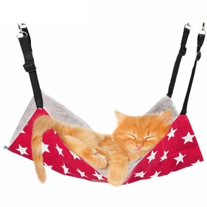 Cat Hanging Bed Warm Kitty Hammock Pet Kennel House Kitten Mat Cushion Sofa Animal Home Products Supplies Free Shipping