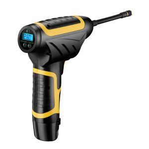 Пневматические инструменты 120W беспроводной автомобильный насос воздушный компрессор USB аккумулятор шин надувные аксессуары для цифрового давления