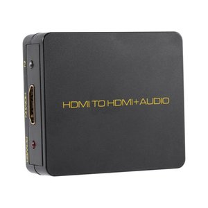 input to HDMI 3.5mm Stereo Audio Output Extractor Decoder 1080P black for Blu-ray HD DVD XBOX