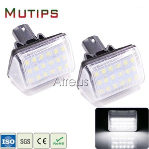 Mutips Car LED For 6 03- CX-5 14- CX-7 07- Accessories No error License Plate Lights 12V White SMD Number Plate Lamp Bulb1