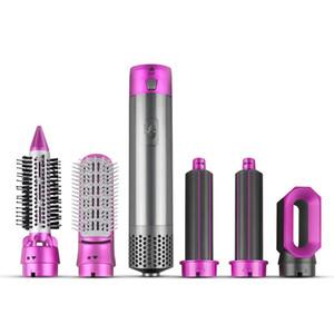 5 in 1 Heißluft Automatische Rotating Haarbürste für Blow Dry Wellen Curls One Step Hair Styler