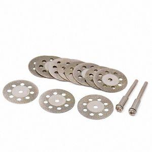 Parça xe51 # Kesme Disk Elmas Taş Döner Aracı Emery Kesme Aksesuarları Elmas Taşlama Wheel 10pcs Mini