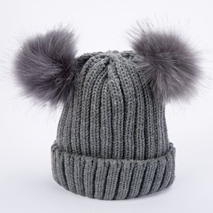 Beanie Hat Woman Luxurys Designers Ladies Double Wool Ball Mens Hats Fashion Ball Knitted Autumn and Winter Warm Designers Caps