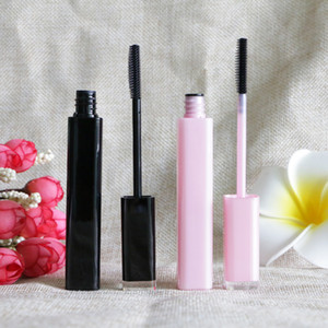 New Empty Rimel Waterproof Mascara Cream Tubes Sexy 6ml Pink Black Colored Mascaras Long Lashes Makeup Tools Packaging 20pcs lot