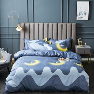 Comforter Bedding Sets 1.5M Four-piece Set Thick Sheets Set Autumn and Winter New Product Bed Sheet Bedding Queen